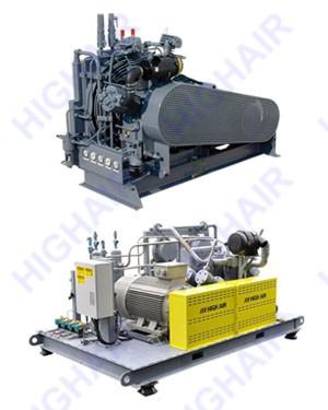 高压空气压缩机 10-40MPa  HG (1-10M3/min)
